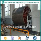 Molde do cilindro do aço inoxidável para o moinho da fatura de papel