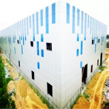 Costruzione d'acciaio chiara del magazzino della struttura d'acciaio di Peb con il basso costo