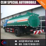 유조선 트럭 석유 탱크 트럭이 Dongfeng에 의하여 190p 16m3 급유한다