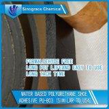 Reliure en latex polyuréthane pour semelle de chaussure