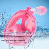 Volles Gesichtsnorkel-Schablonen-Unterwasseratemgerät-Unterwasserschwimmen-Tauchen Anti-Fog
