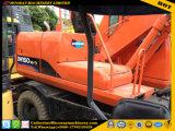 Usadas de excavadora de ruedas Doosan 150W-7 de Hot usadas de excavadora de rueda 150-7