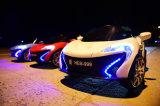 ライト付き電気自動車