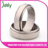 Anillo de boda de la muestra diseña el anillo de los hombres de acero inoxidable