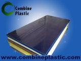 Placa de espuma de PVC revestida de PVC com fibra de madeira