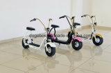 """2017 """"trotinette"""" elétrico de pé de Citycoco da bicicleta da roda popular de 1000With 1200W dois"""