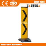 Amarelo UPVC Plástico Dobrável & Chevron Painel Delineator Vertical