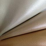 装飾の家具のソファーのMicrofiberの真珠のような輝いた革(2-29)
