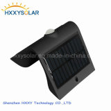 Inteligente de 1,5 W LED Solar Lampara de pared con certificados