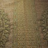 Klassisches zwei Blumen-Chenille-Sofa-Gewebe für Mittleren Osten