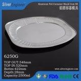Aluminiumfolie-Behälter-Form 6250g