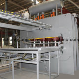 De volledige Automatische Monolayer Machine van de Pers van de Laminering Hete