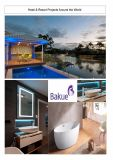 Vasca da bagno acrilica indipendente degli accessori della stanza da bagno con la certificazione