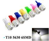 T10 LED W5w 12Vプロジェクターレンズ車LEDの自動車ランプ