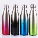 ضعف يحوّط [ستينلسّ ستيل] [وتر بوتّل] [سبورتينغ] زجاجة في فريدة لون تدرّج