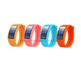Braccialetto astuto di Bluetooth della vigilanza di frequenza cardiaca con il video K18c di pressione sanguigna