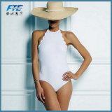 Traje de baño del bikiní del Beachwear del traje de baño de las mujeres llanas de la manera