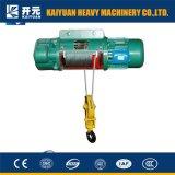 1 Elektrische Hijstoestel van de Kabel van de Draad van de Snelheid van de ton het Dubbele met SGS