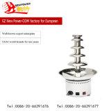 Acier inoxydable 5 couches de fontaine de chocolat avec le prix usine (NP-628)
