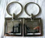 Мода индивидуальные рекламные сувениры металлические цепочки ключей