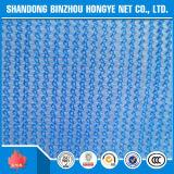 青い構築の建物の足場安全策のプラスチック青い構築のネット