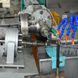 Espulsore gemellare conico della macchina della vite del tubo del PVC dello strato di plastica di profilo singolo