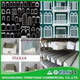 Moulage durable matériel décoratif de corniche du profil ENV d'égouttement