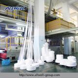 Single Beam에 있는 1600mm PP Spunbond Nonwoven Fabric Machine