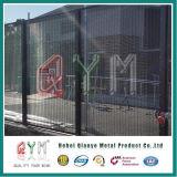 PVCは358高い安全性の網の塀の刑務所の塀に塗った