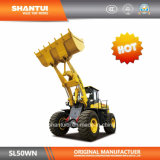 De Lader van het Wiel van Shantui SL50wn (de Afzet van de Fabriek)