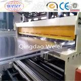 Feuille de toit en polycarbonate de ligne de production de la machine pour feuille alvéolaire de l'extrudeuse