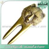 عادة زنك سبيكة معدن [3د] تصميم أثر قديم دبّ لعبة غولف [ديفوت] أداة
