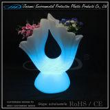 POT di fiore della mobilia LED del giardino