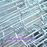 Filo a fisarmonica galvanizzato del rasoio di obbligazione rivestita del PVC