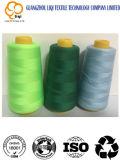 draad van de Stof van de Naaiende Draad van het Borduurwerk van de Polyester van 75D/2 de hoog ring-Gesponnen 100%