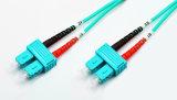 Om3 многомодовый оптоволоконный кабель sc для Sc Simplex бронированные оптоволоконный кабель