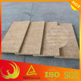 Placa de grande resistência de lãs de rocha do telhado da absorção sadia