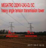 Torretta pesante della trasmissione di tensionamento di angolo dello Sc di Megatro 220kv 2A3-DJ