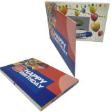 Happy Birthday LCD Brochure Video Card 4.3inch