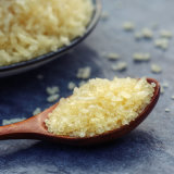 Gelatina comestible como aditivo alimenticio