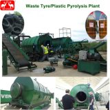 Saleのための連続的なWaste Plastic Tyre Pyrolysis Machine Plant