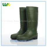 PVC鋼鉄つま先の安全を働かせる828セリウムの標準構築は雨靴の雨靴を起動する