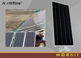 Jardin allumant le réverbère solaire Integrated de DEL avec le détecteur de mouvement