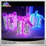 Lumière extérieure imperméable à l'eau de décoration du motif DEL Gardenl de boîte-cadeau
