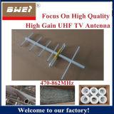 470-862MHz UHFの頻度の八木のアンテナ