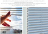 zonneblinden van het Aluminium van 25mm de Vinyl Venetiaanse