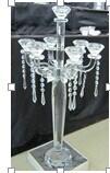 Кристаллический держатель для свечи для домашнего украшения (KLS100326-1A)