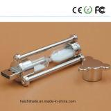 2016新しいデザイン砂時計USBの棒水晶USBのフラッシュ駆動機構