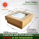 Antifogging Windows를 가진 음식 판지 상자 상자