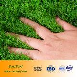 Коммерчески синтетическая дерновина, селитебная искусственная трава, декоративная искусственная лужайка